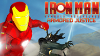 <b>Iron Man</b> is on his way to make justice against the evil machines. Help our hero in his task defeating the the machines before they stop you.