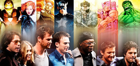 The Avengers Casting