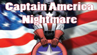 <b>Captain America</b> gets in to a Nightmare is this action game. Help our hero to defend the base from the weird monsters.