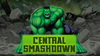<b>Hulk</b> arrives to the center of town while the robots are taking over the city. Smash them down before is to late.