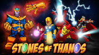 Choose between <b>Iron man</b>, <b>Thor</b>, <b>Nova</b> or <b>Scarlet Witch</b> and play this Avengers Adventure with your favourite heroes.